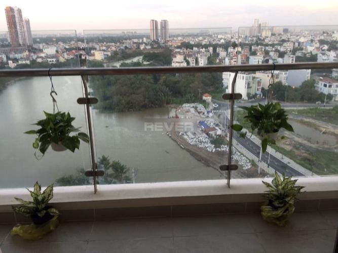 Ban công căn hộ Đảo Kim Cương, Quận 2 Căn hộ Đảo Kim Cương ban công hướng Đông Nam, view sông mát mẻ.