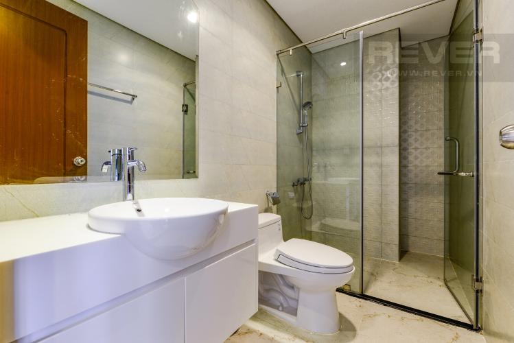 Phòng tắm Căn hộ Vinhomes Central Park tầng cao 1PN nội thất cơ bản