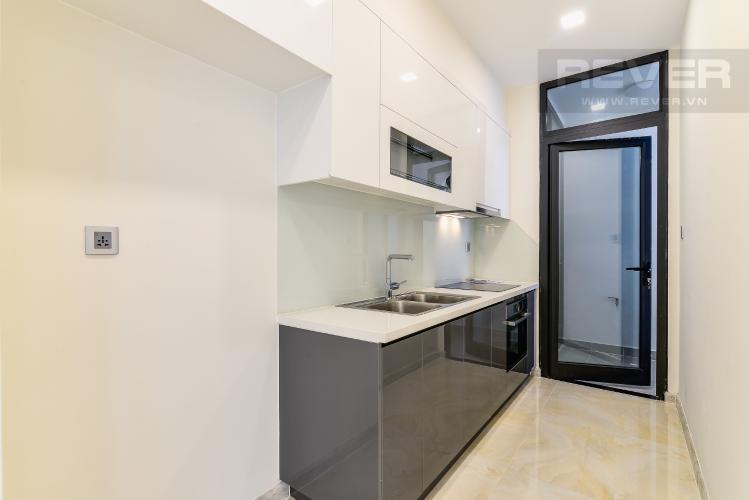 Nhà Bếp Căn hộ Vinhomes Golden River tòa Aqua 2, 2 phòng ngủ, hướng nhà Tây Bắc, view hồ bơi.