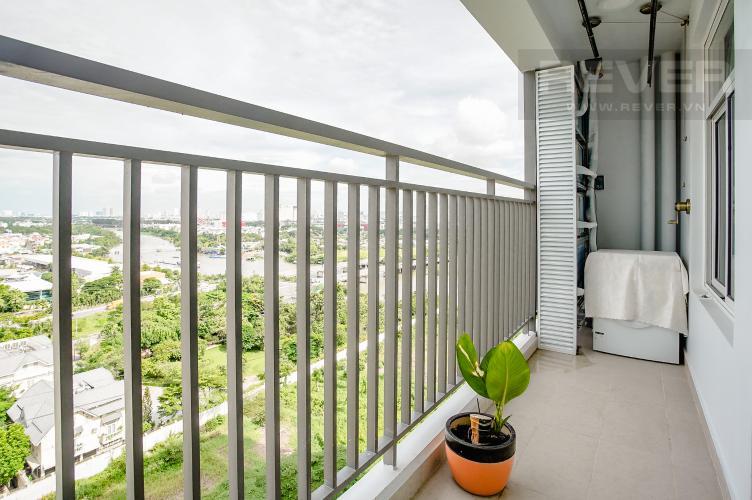 Ban Công Bán hoặc cho thuê căn hộ Sunrise Riverside 3PN, tầng trung, đầy đủ nội thất, view sông Rạch Dĩa