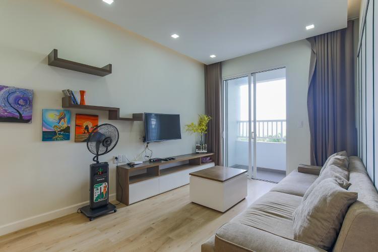 Cho thuê căn hộ Lexington Residence 2PN, tháp LB, đầy đủ nội thất, view Quận 2 xanh mát