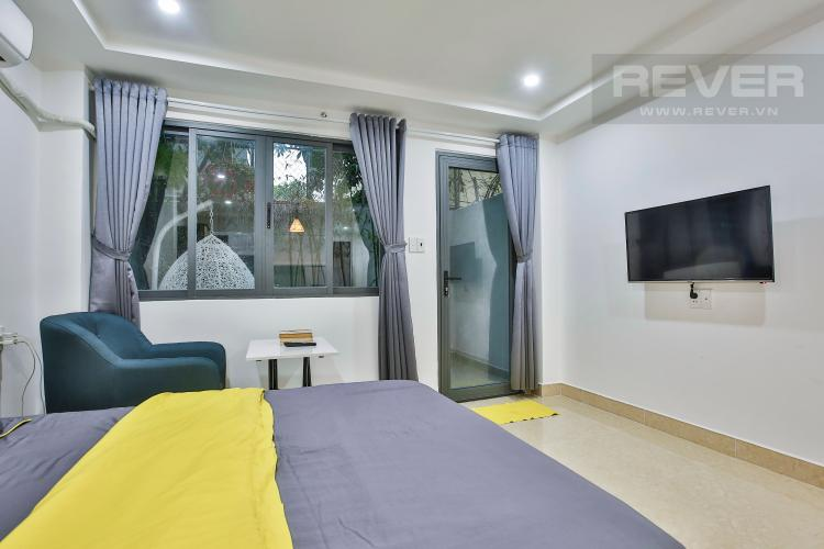 Phòng Ngủ Căn hộ dịch vụ 1 phòng ngủ Đường Số 42 Quận 2 diện tích 28m2
