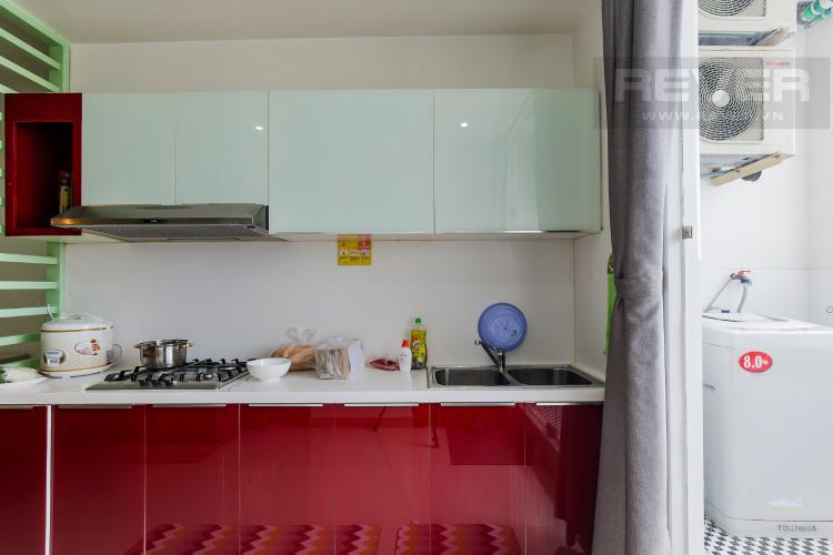 Phòng Bếp Cho thuê chung cư H2 Hoàng Diệu 2PN, diện tích 87m2, đầy đủ nội thất, view cảnh thành phố