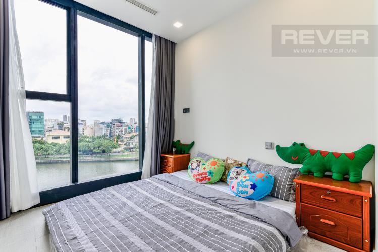 Phòng Ngủ 2 Căn hộ Vinhomes Golden River tầng thấp, tháp Aqua 3, 3 phòng ngủ, hướng Đông Bắc, view sông