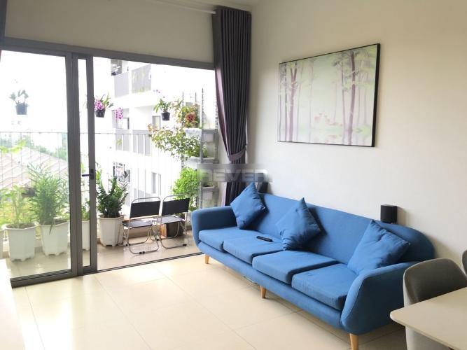 Phòng khách Hausneo Quận 9 Căn hộ Hausneo tầng thấp, view thành phố thoáng mát.