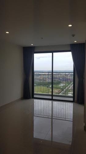 Phòng khách căn hộ Vinhomes Grand Park Căn hộ Vinhomes Grand Park nội thất cơ bản, view thành phố.