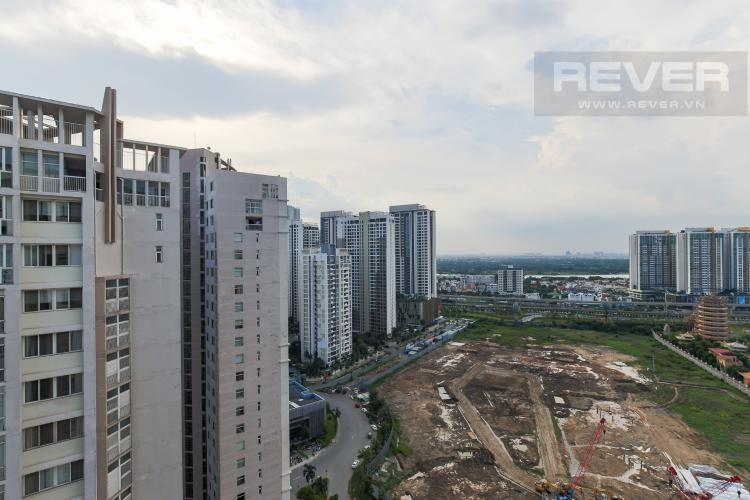 View Cho thuê căn hộ Lexington Residence 2PN, tầng cao, tháp LC, đầy đủ nội thất