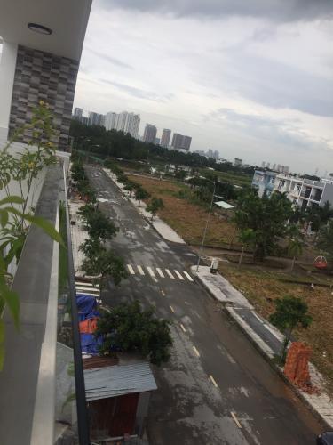 Hẻm nhà phố đường Đào Sư Tích, Nhà Bè Nhà phố mặt tiền hướng Đông Nam diện tích 52m2, khu dân cư an ninh.