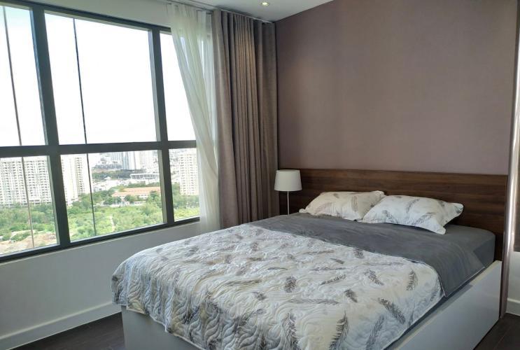 phòng ngủ căn hộ The Sun Avenue Bán căn hộ The Sun Avenue đầy đủ nội thất, view Landmark 81.