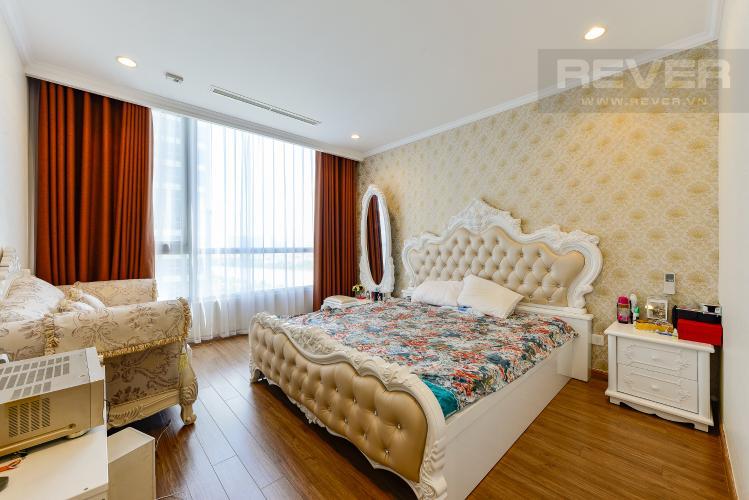 phòng ngủ 2 Căn hộ Vinhomes Central Park tầng trung C1 thiết kế đẹp, sang trọng
