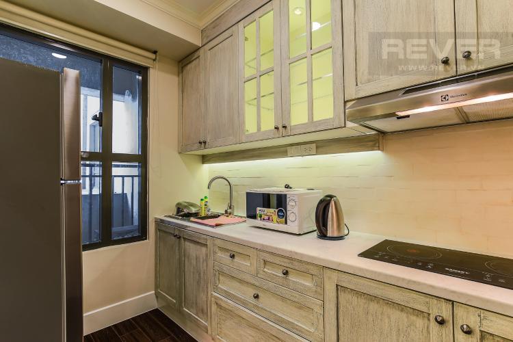 Phòng Bếp Cho thuê căn hộ Icon 56 tầng trung, 1PN đầy đủ nội thất