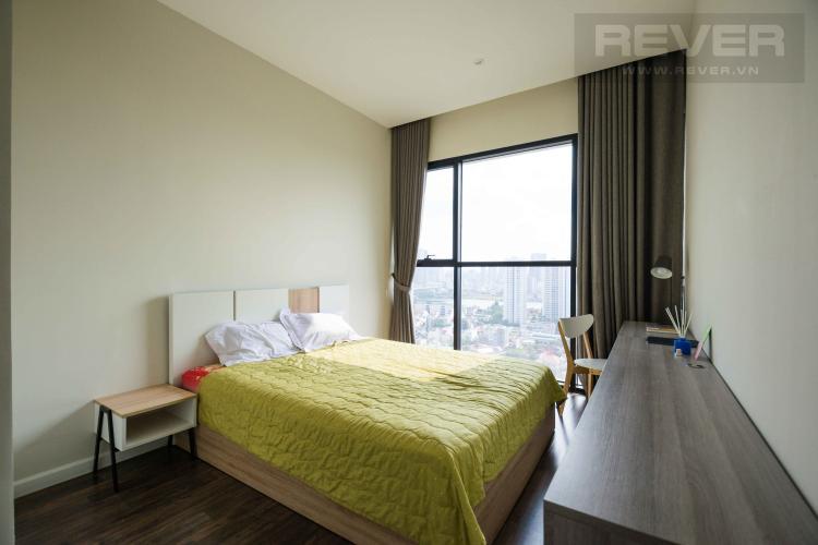Phòng Ngủ 1 Cho thuê căn hộ The Ascent tầng cao 2PN, nội thất đầy đủ, view Landmark 81