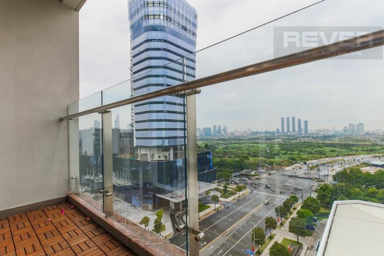 Balcony Cho thuê căn hộ Sarimi Sala Đại Quang Minh 3 phòng ngủ, đầy đủ nội thất, view Landmark 81