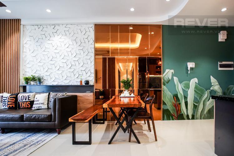 Phòng Ăn Cho thuê căn hộ Sunrise Riverside 3PN, tầng trung, đầy đủ nội thất, hướng Đông đón gió