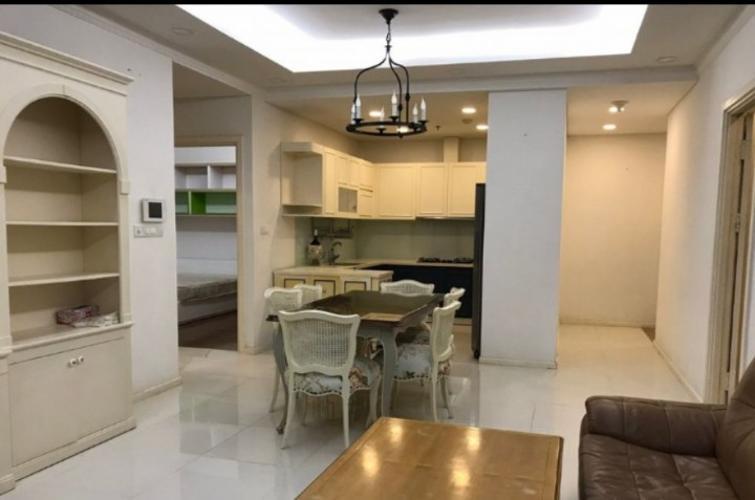 Phòng khách căn hộ Thảo Điền Pearl Căn hộ Thảo Điền Pearl tầng cao, nội thất đầy đủ - view sông Sài Gòn