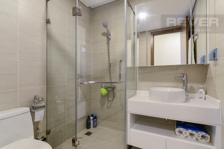 Phòng tắm Căn hộ Vinhomes Central Park 2 phòng ngủ, tầng trung P2, nội thất đầy đủ