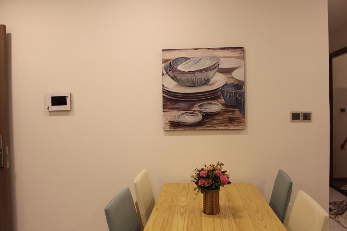 655 Cho thuê căn hộ Vinhomes Central Park 2PN, tháp Park 1, đầy đủ nội thất, view nội khu