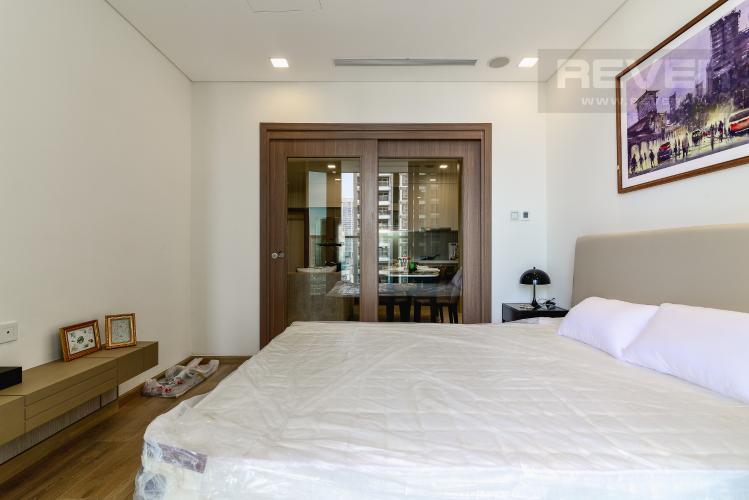 Phòng Ngủ Căn hộ Vinhomes Central Park tầng trung, tháp Landmark 81, 1PN đầy đủ nội thất