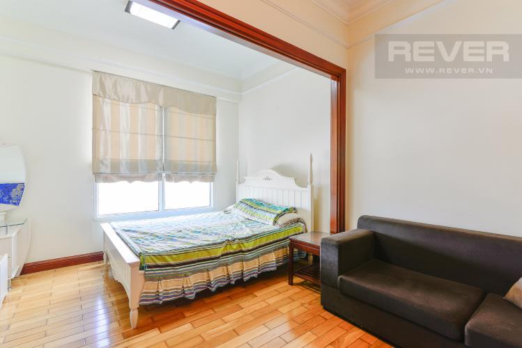 Phòng Ngủ Căn hộ The Manor 2 tầng cao phòng ngủ đầy đủ nội thất