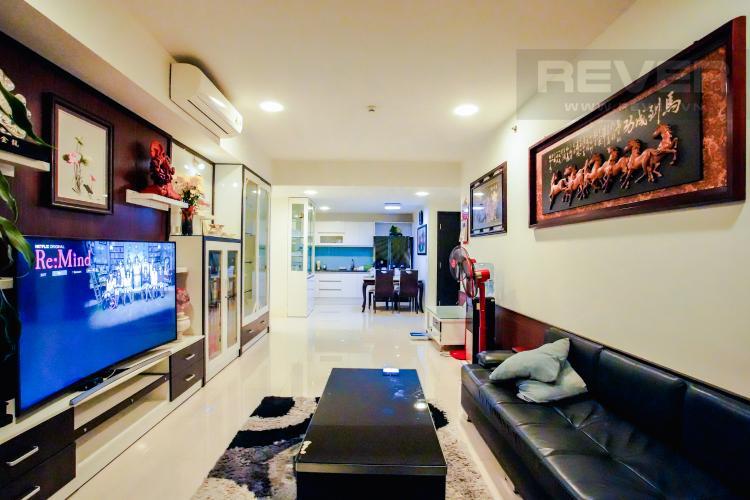 Phòng Khách Bán căn hộ Sunrise City 3PN, tầng cao, đầy đủ nội thất, view Quận 7