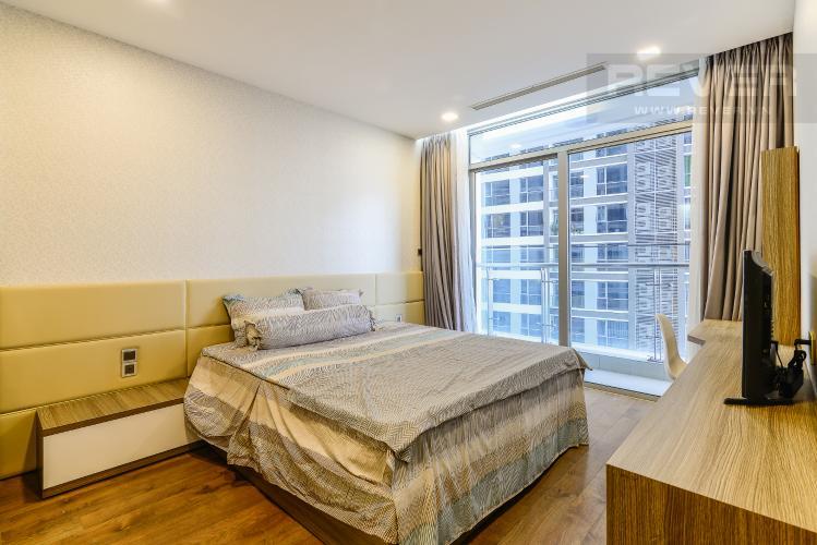 Phòng Ngủ 1 Căn hộ Vinhomes Central Park 2 phòng ngủ tầng trung P3 nội thất đầy đủ