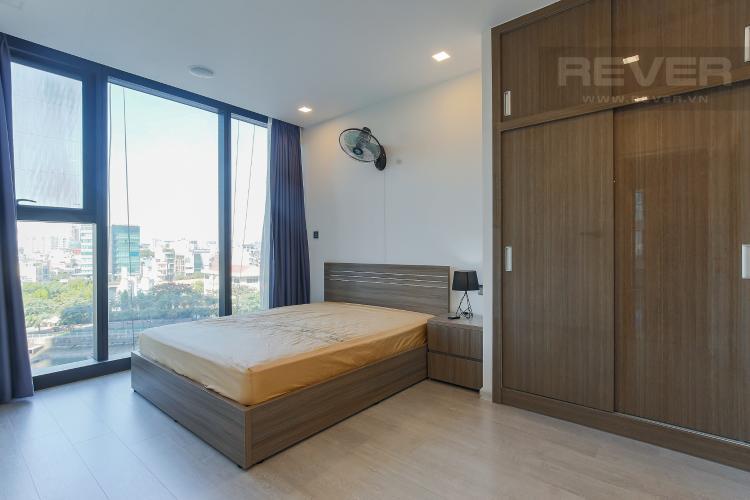 Phòng Ngủ 1 Căn hộ Vinhomes Golden River tầng thấp, 3PN, nội thất đầy đủ
