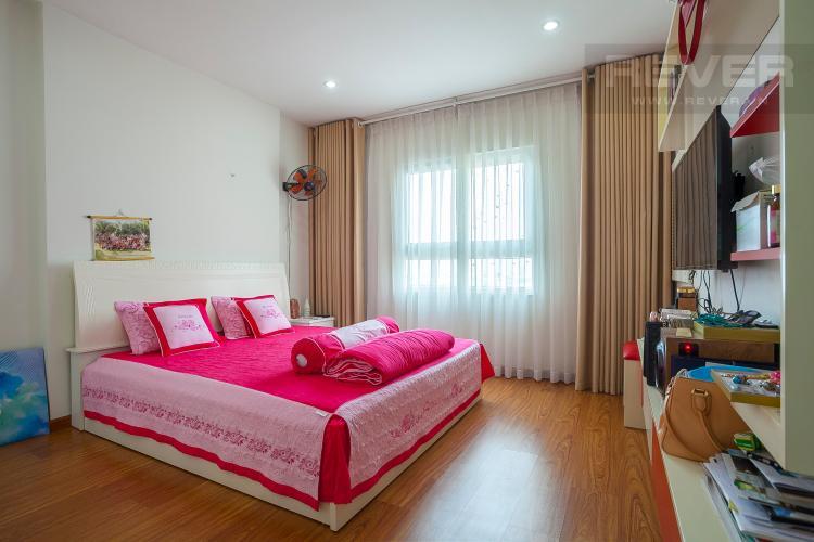 Phòng Ngủ 1 Căn hộ Chung cư Phúc Yên 2 phòng ngủ tầng cao nội thất đầy đủ