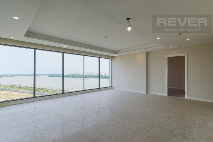 Phòng Khách căn hộ Diamond Island - Đảo Kim Cương Bán căn hộ Diamond Island - Đảo Kim Cương 3 phòng ngủ, diện tích 120m2, view sông mát mẻ