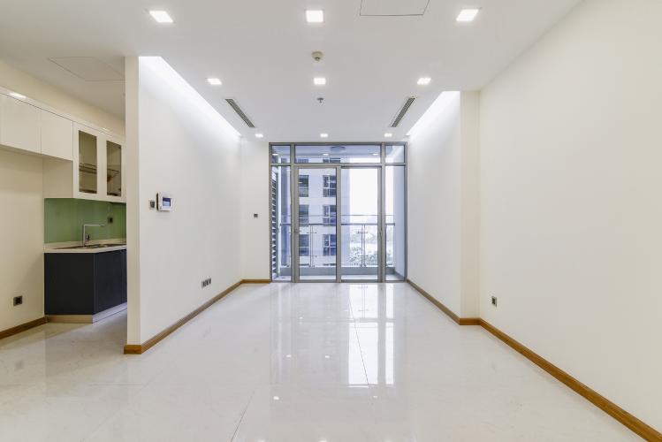 Căn hộ Vinhomes Central Park 2 phòng ngủ nằm ở tầng thấp P7 view hồ bơi