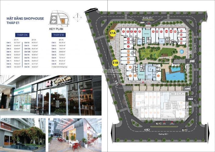 Shophouse khu E Shop-house Sunrise Riverside thuận tiện kinh doanh đa ngành nghề.
