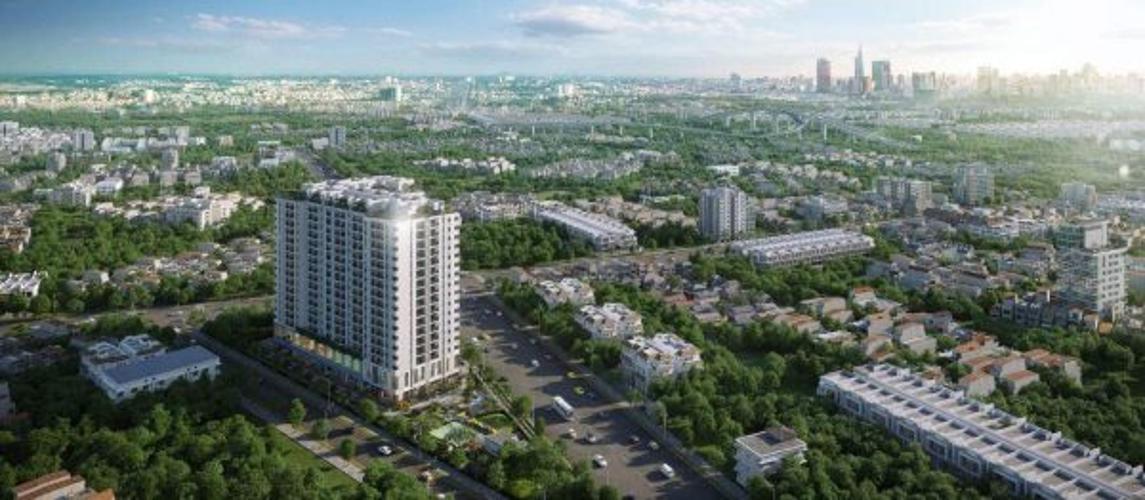 Bán căn hộ Ricca 1PN+1, tầng 5, DT 56m2, chưa bàn giao