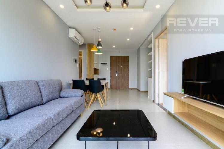 Phòng Khách Cho thuê căn hộ New City Thủ Thiêm 2PN 2WC, hướng Tây Bắc, view công viên
