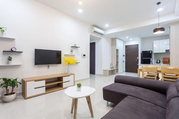 Phòng khách căn hộ The Tresor Cho Thuê Căn hộ The Tresor, diện tích 65m2, bao gồm 2 phòng ngủ, đầy đủ nội thất