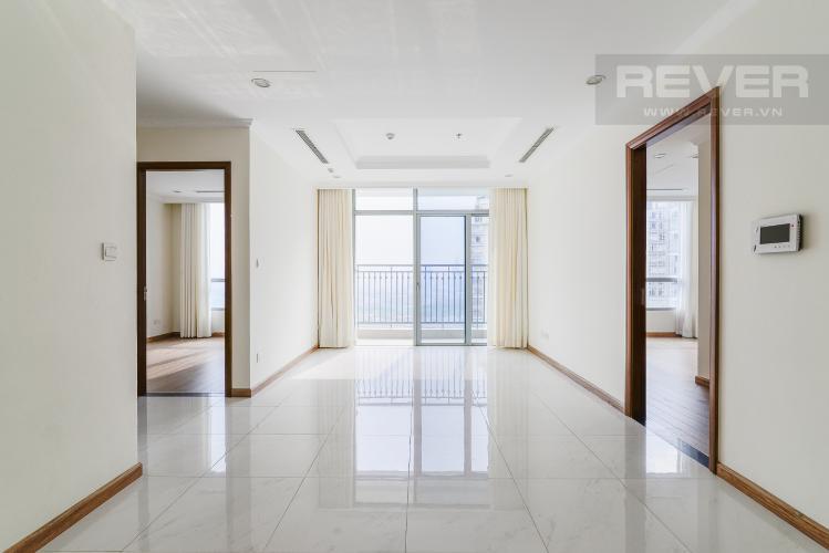 Phòng Khách Căn hộ Vinhomes Central Park 2 phòng ngủ tầng cao C1 view sông