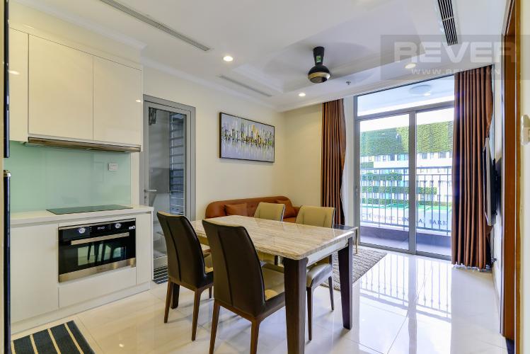 Phòng Khách Bán căn hộ Vinhomes Central Park 2PN tầng thấp tháp Landmark 3, đầy đủ nội thất, view nội khu đẹp