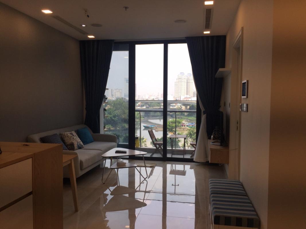 1 Cho thuê căn hộ Vinhomes Golden River 2PN, tầng thấp, đầy đủ nội thất, view Landmark 81