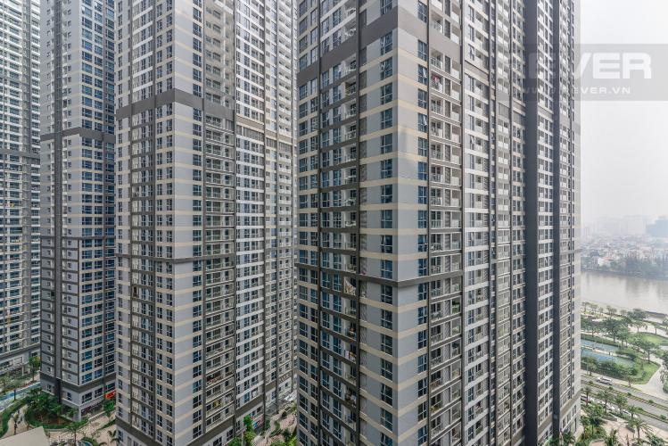 View Căn hộ Vinhomes Central Park 2 phòng ngủ tầng cao P7 view nội khu