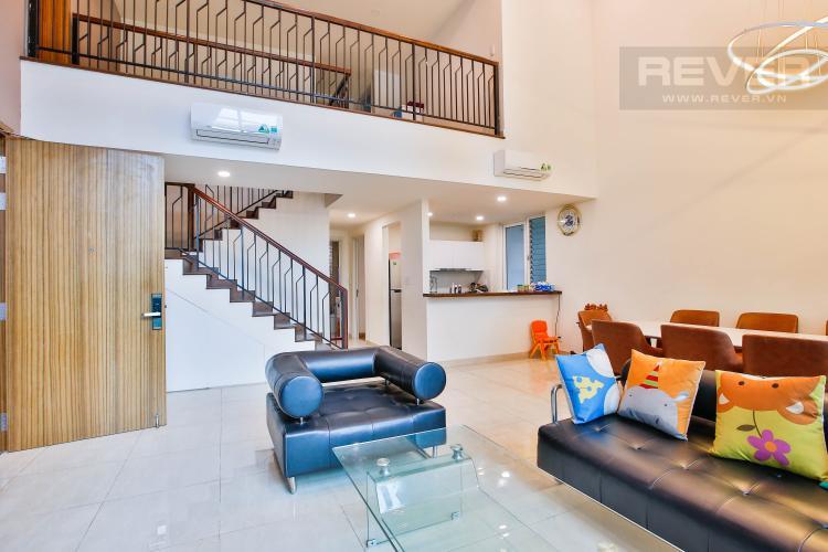 Phòng Khách Bán căn hộ The Krista Quận 2 4PN, đầy đủ nội thất
