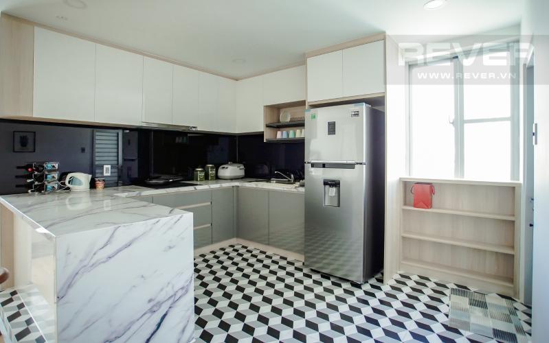 Phòng Bếp Căn hộ Scenic Valley tầng thấp, 2PN đầy đủ nội thất, view hồ bơi