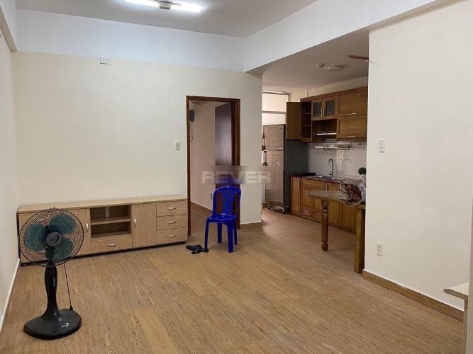Phòng khách căn hộ chung cư Vạn Đô, Quận 4 Căn hộ chung cư Vạn Đô hướng Tây Bắc nội thất đầy đủ tiện nghi.