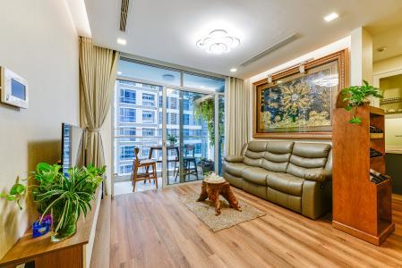 Căn hộ Vinhomes Central Park 2 phòng ngủ tầng thấp P3 hướng Bắc
