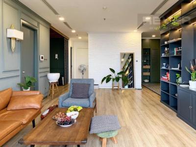 Bán căn hộ Vinhomes Central Park 4PN, tháp Park 4, đầy đủ nội thất sang trọng, view sông và công viên mát mẻ