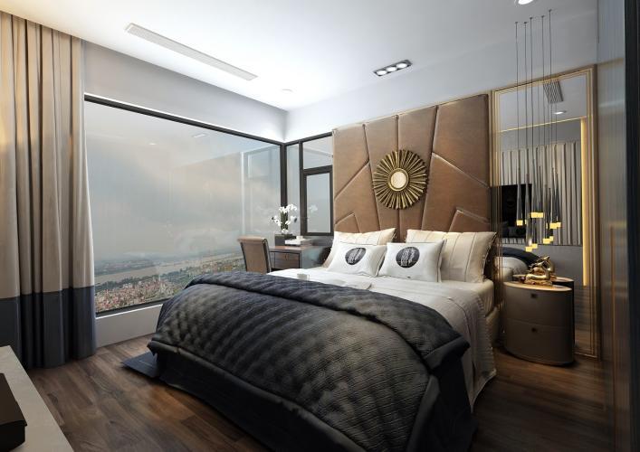 Nội thất căn hộ Sunshine City Sài Gòn Bán căn hộ Sunshine City Sài Gòn tầng cao hướng cửa Đông Bắc, diện tích  84.2m2, 2 phòng ngủ, thiết kế hiện đại.