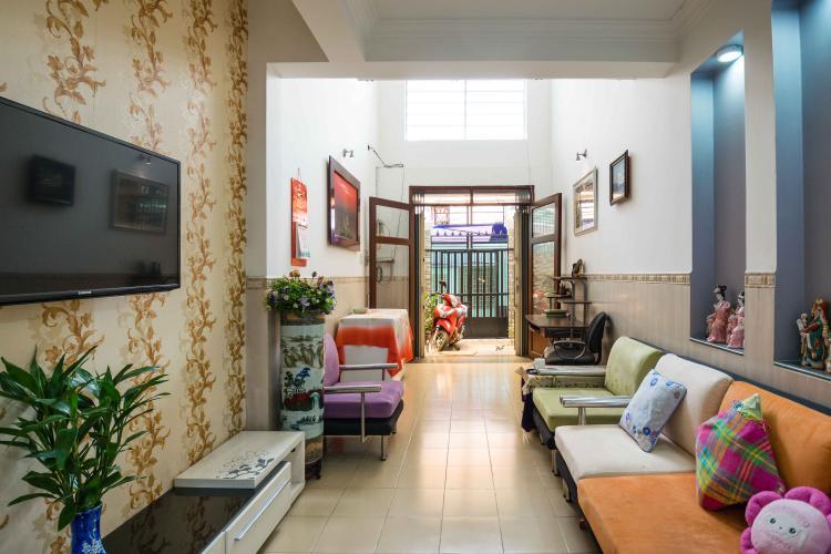 Phòng Khách Bán nhà phố 2 tầng, 3PN tại Bình Thạnh, diện tích 158m2, sổ hồng chính chủ