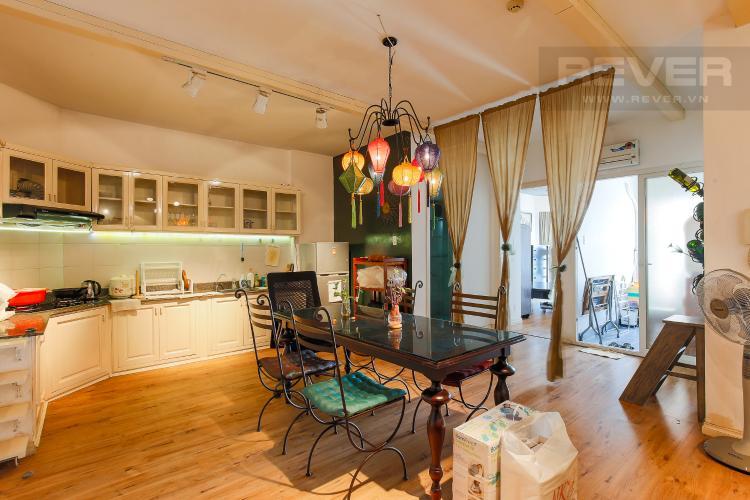 Phòng Bếp Căn hộ chung cư Copac Quận 4 2PN đầy đủ nội thất, view sông