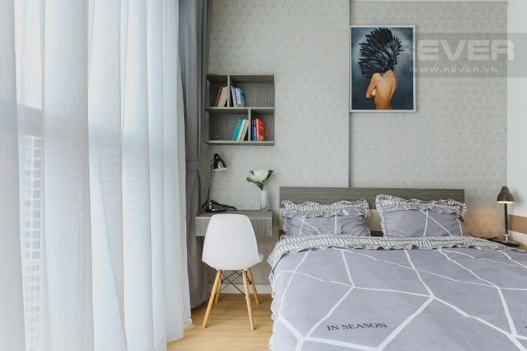 Phòng Ngủ 1 Cho thuê căn hộ Masteri Millennium tầng cao, 2PN, đầy đủ nội thất