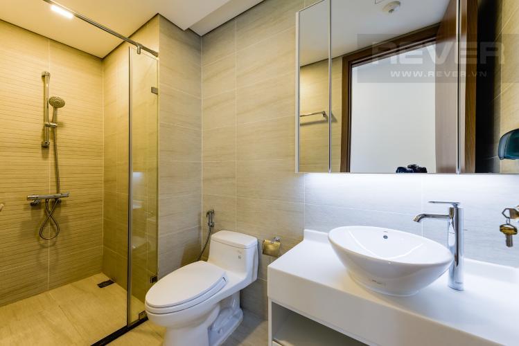 Phòng tắm 1 Căn hộ Vinhomes Central Park 2PN tầng cao, tháp Park 6, view công viên và view sông
