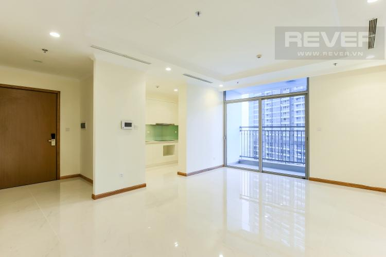 Phòng khách Căn góc Vinhomes Central Park 3 phòng ngủ tầng cao Landmark 2