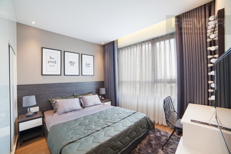 Phòng ngủ 1 Căn hộ The Gold View 2 phòng ngủ tầng thấp tháp B nội thất đầy đủ