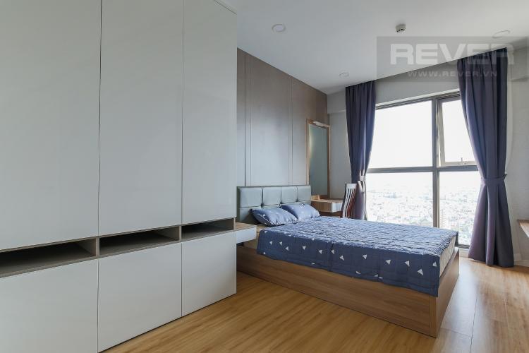 Phòng Ngủ 1 Căn hộ Masteri Millennium tầng cao, 2PN, đầy đủ nội thất